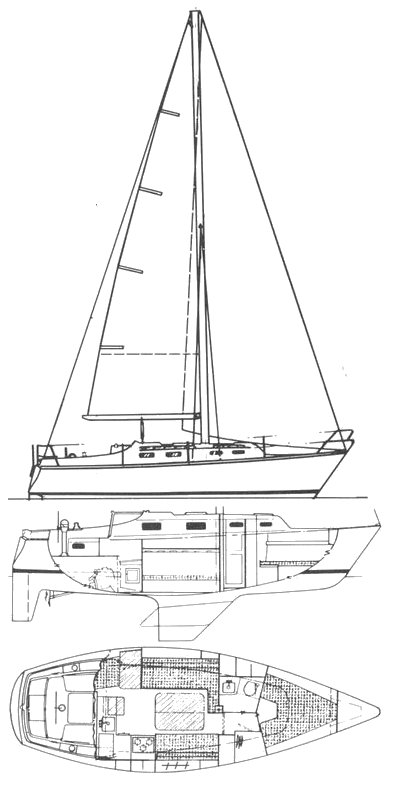 SailboatData  HUNTER 30 Sailboat