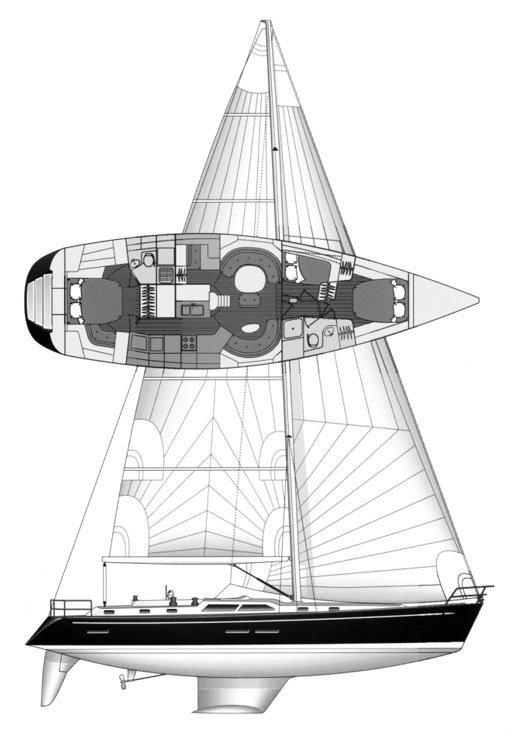 HYLAS 54 drawing