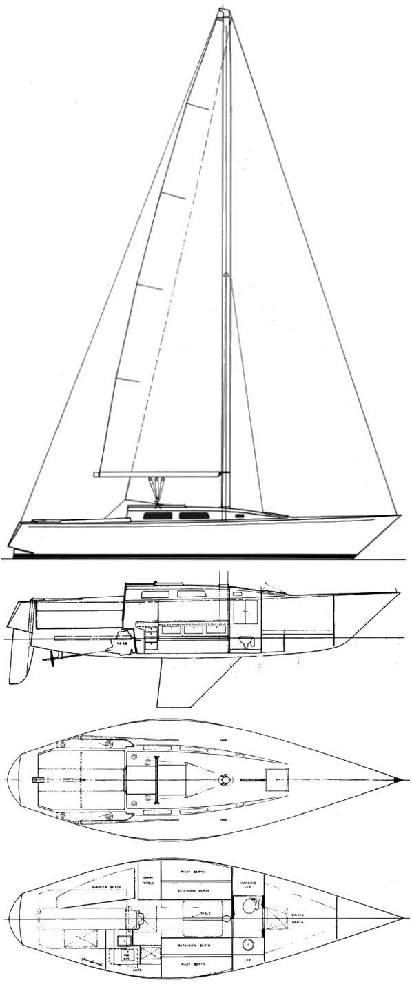 IMPALA 36 (PETERSON) drawing