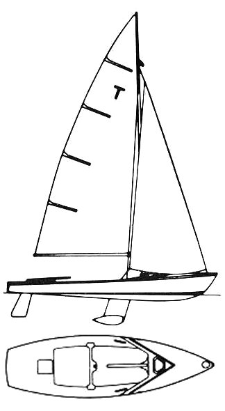 International Tempest drawing on sailboatdata.com