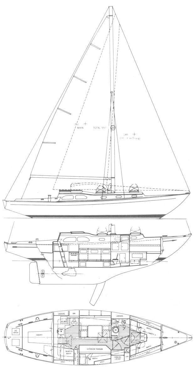 INVICTA II (TRIPP) drawing