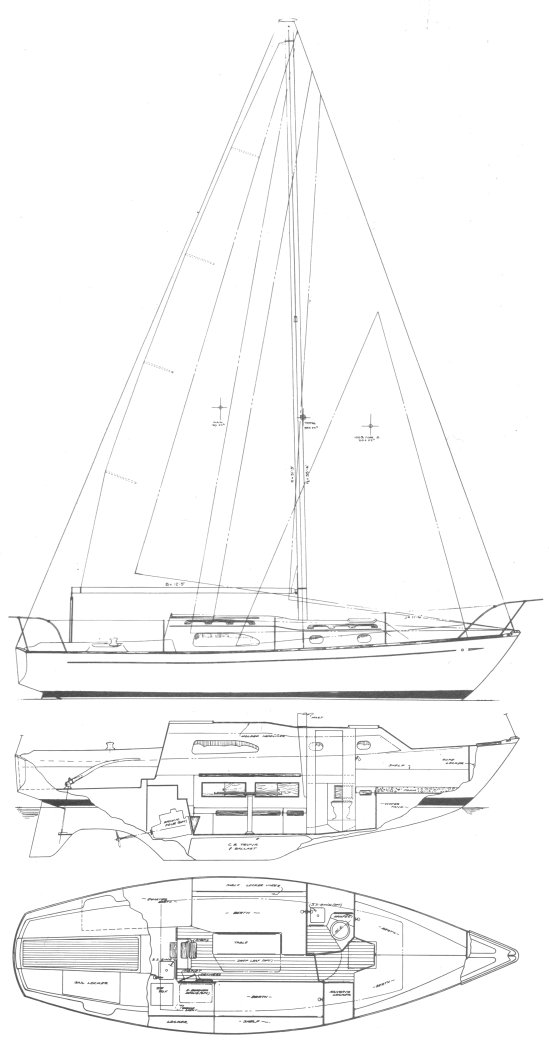 irwin 28 sailboat specifications and details on