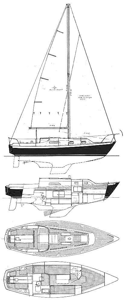 IRWIN 28 MK IV drawing