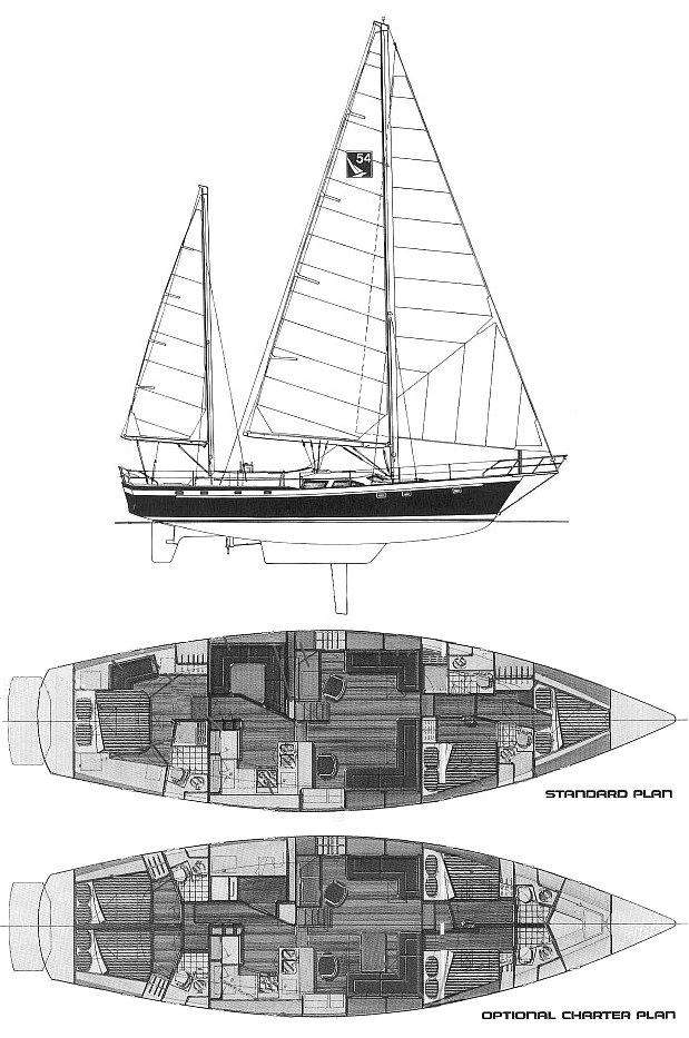 IRWIN 54 drawing