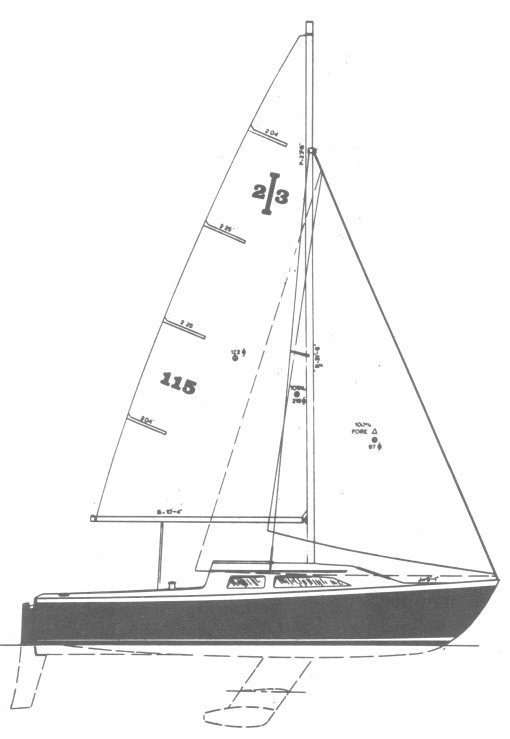 ISLANDER 23 (CREALOCK) drawing