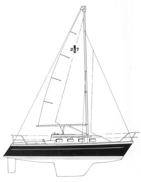ISLANDER 27-2 drawing