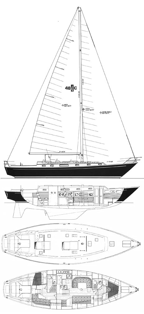 ISLANDER 48C drawing