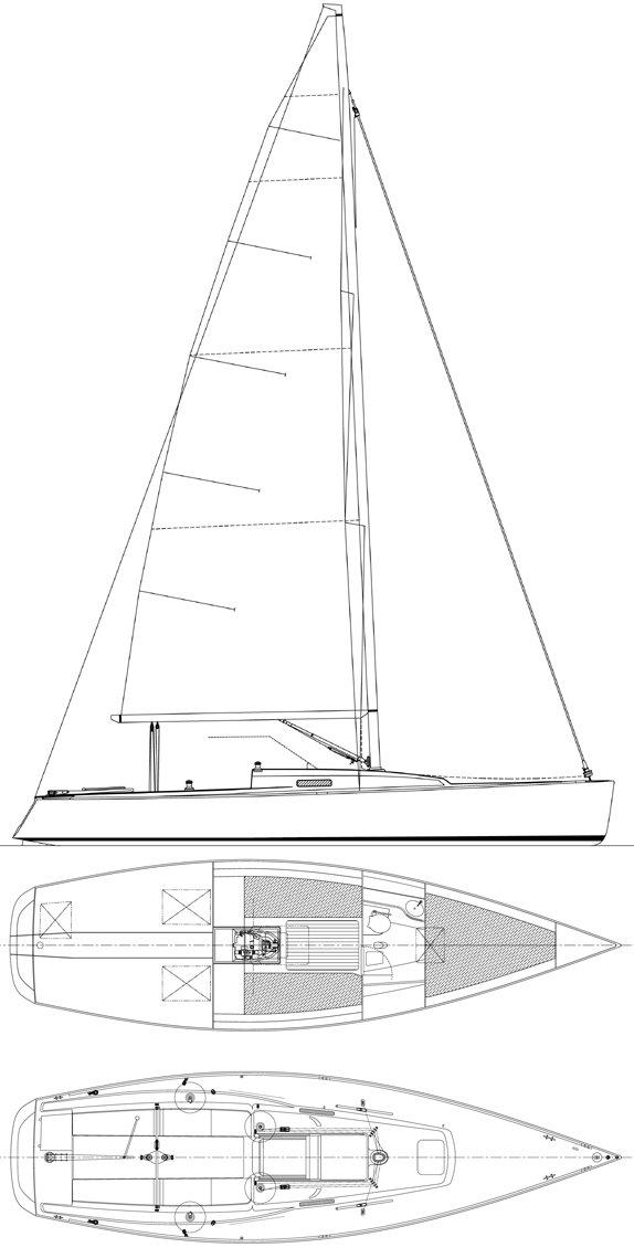 J/100 drawing