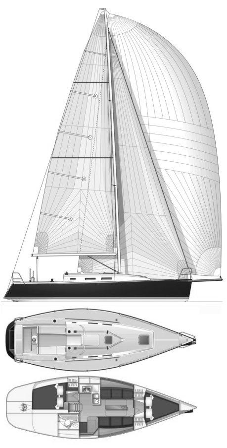 J/109 drawing