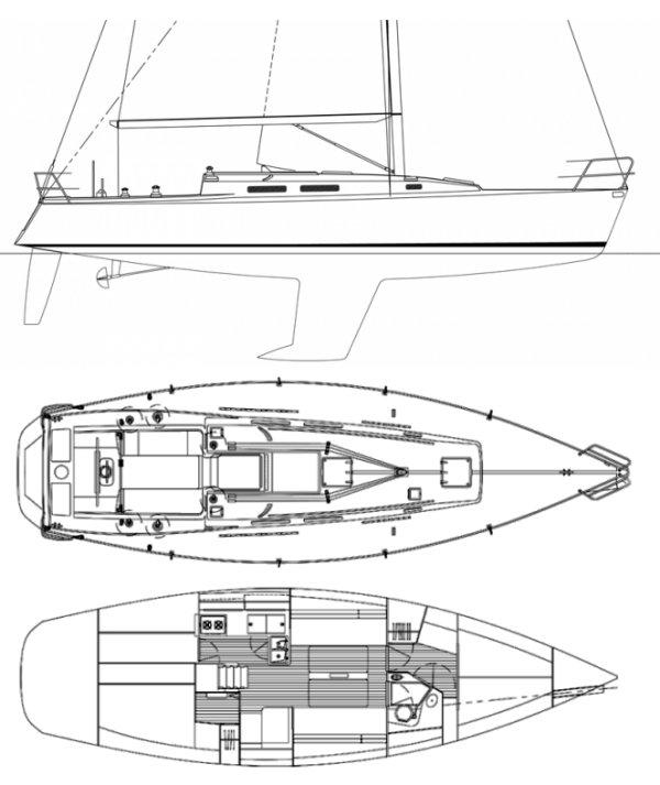 J/120 drawing