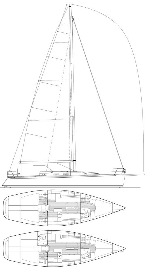 J/133 drawing