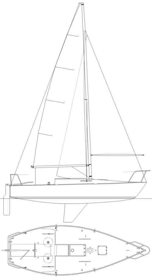J/24 drawing
