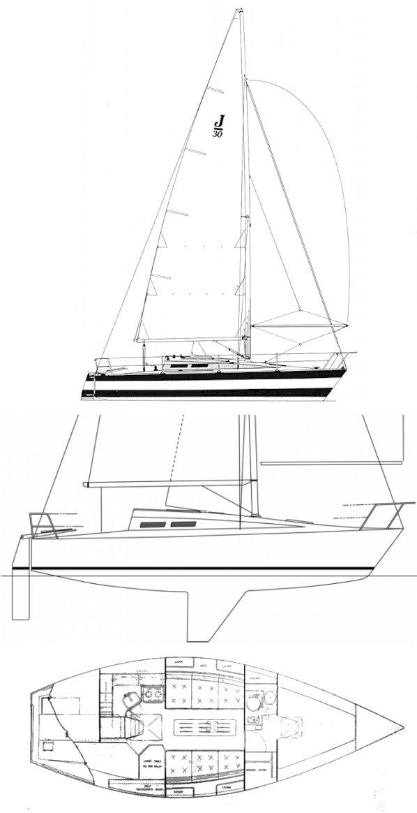 J/30 drawing