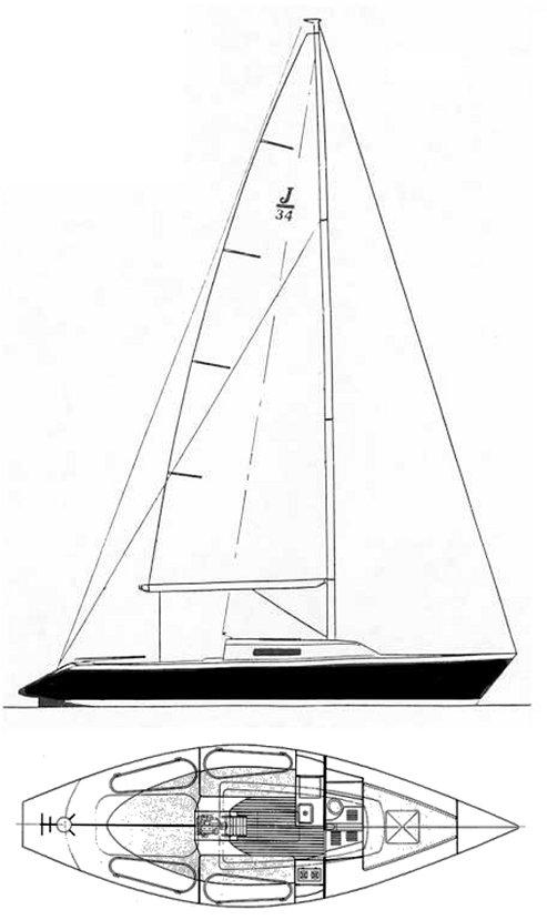 J/34 drawing