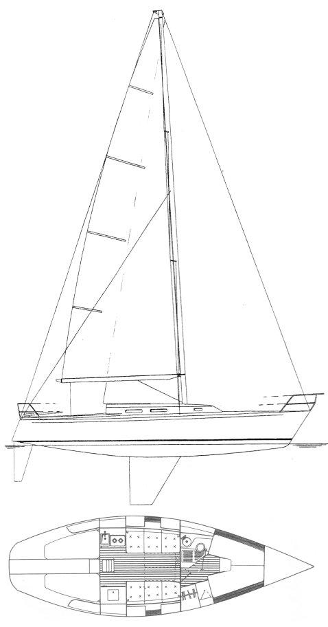 J/35 drawing
