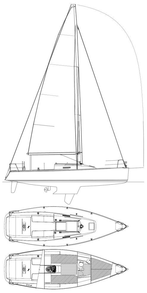 J/95 drawing