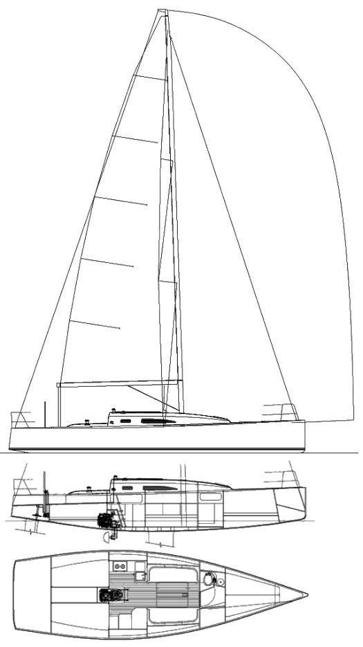 J/111 drawing