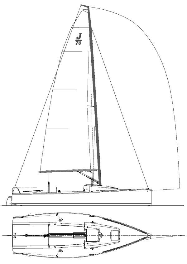 J/70 drawing