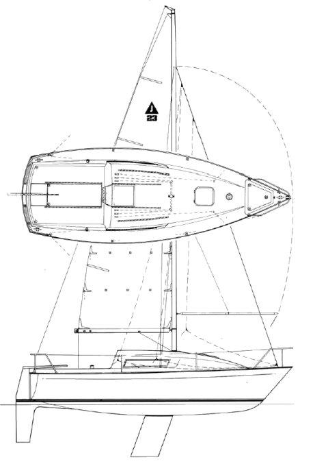 JAGUAR 23 drawing