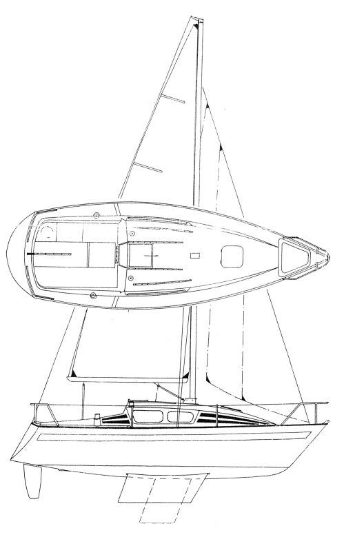 JAGUAR 24 drawing