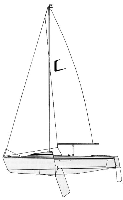 Jolly Skip Jolle drawing on sailboatdata.com