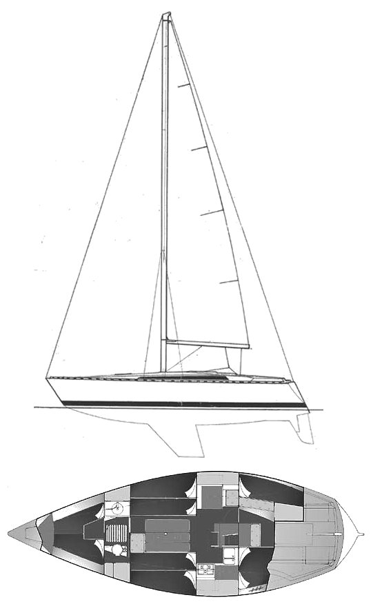 JOUËT 37 drawing