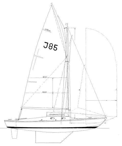 Juno drawing on sailboatdata.com