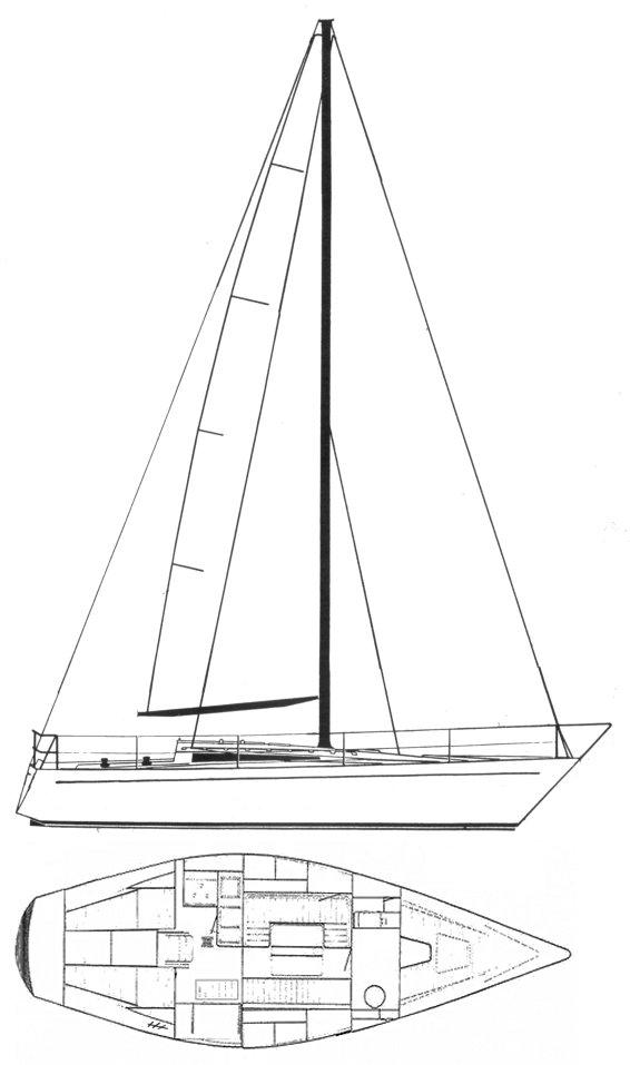 KALIK 33 drawing