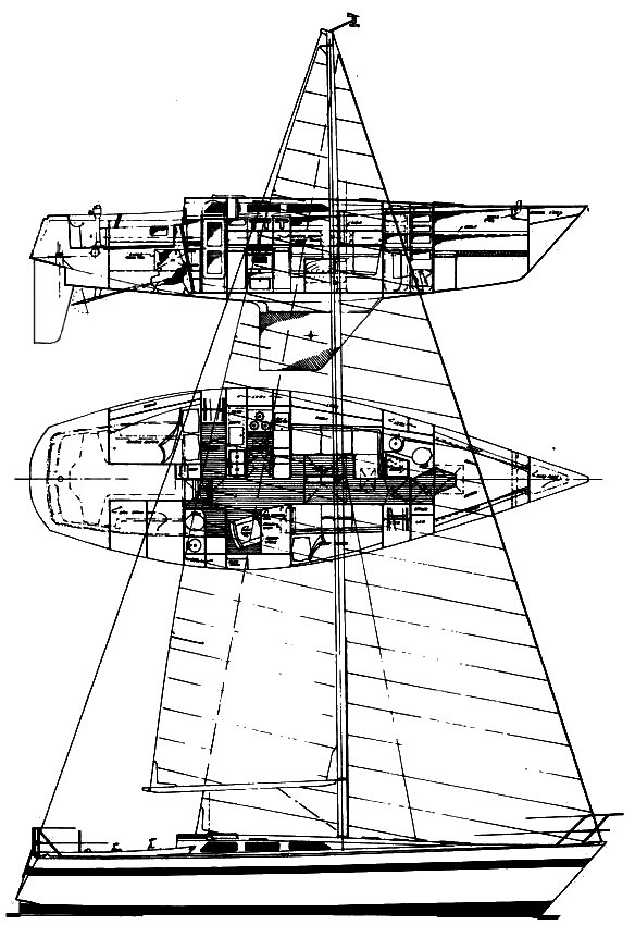 KALIK 40 drawing