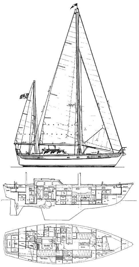 KANTER ATLANTIC 45 drawing