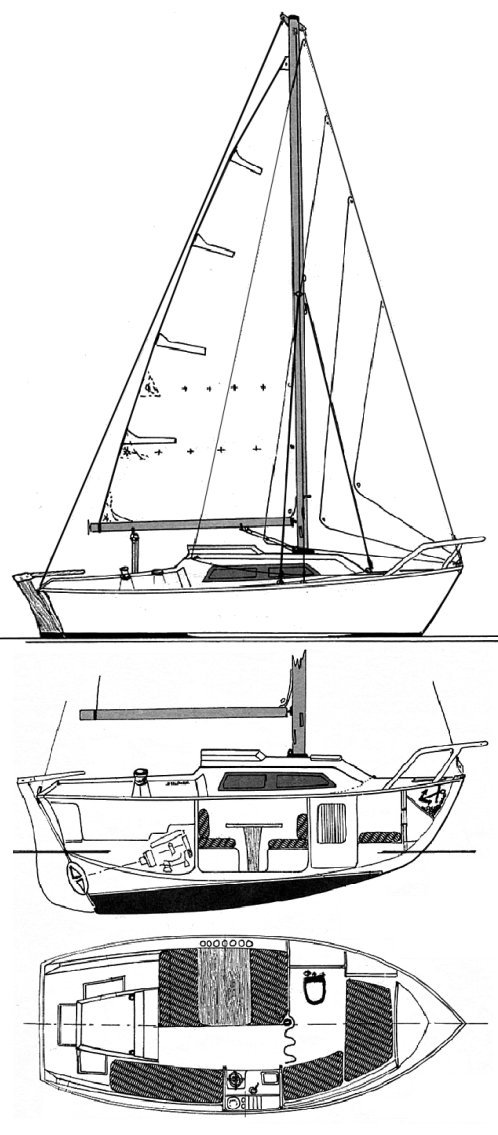KERLOUAN (BENETEAU) drawing