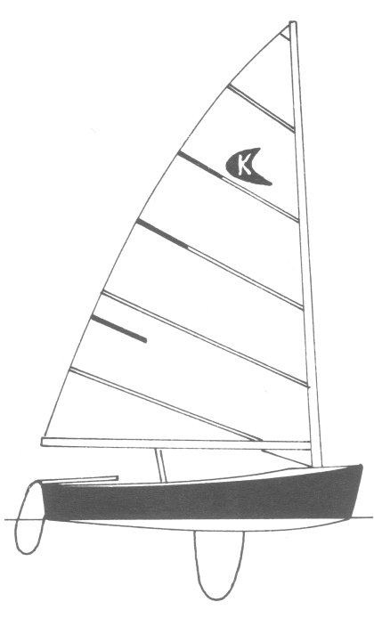 Kite drawing on sailboatdata.com