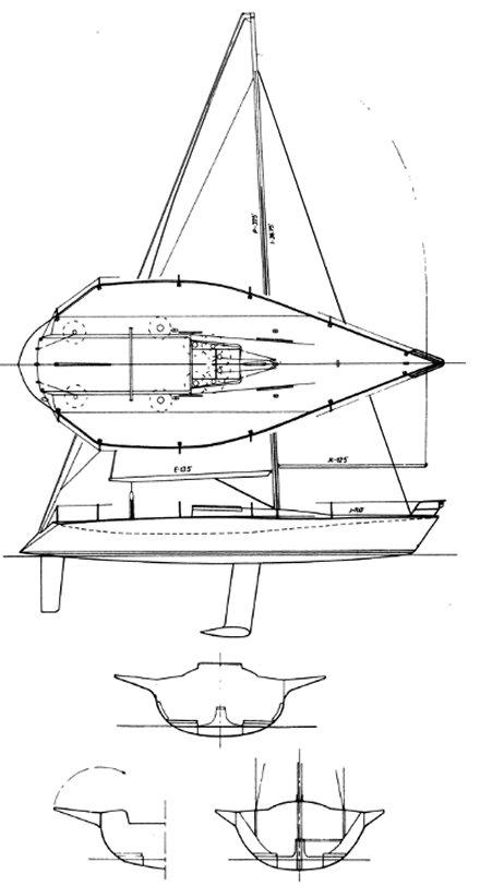 KIWI 35 drawing
