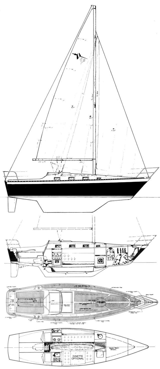 LANCER 28T MK5 drawing