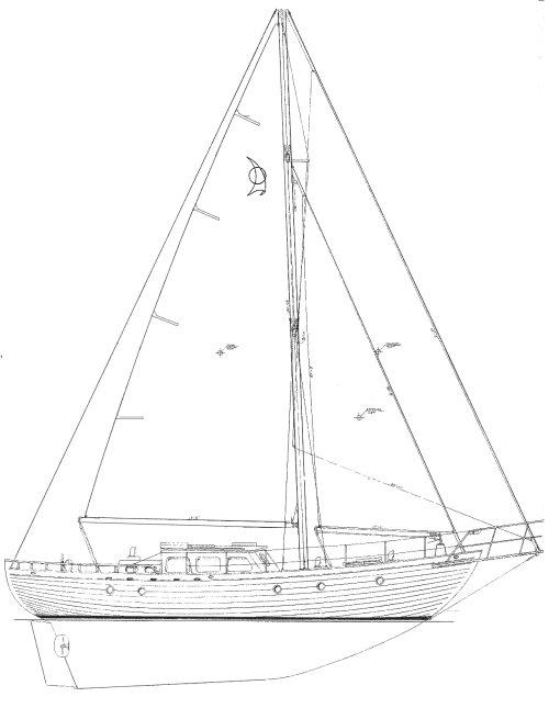 LANDFALL 39 (AMY) drawing