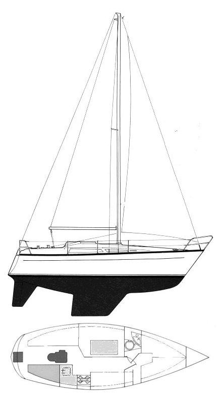 LEISURE 27 drawing