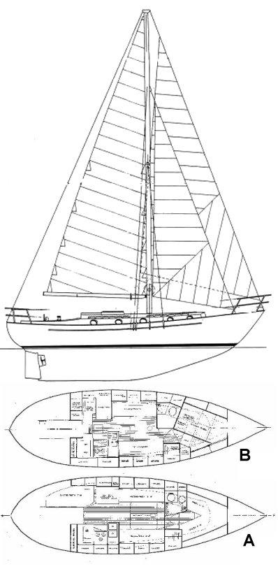 LIBERTY 38 drawing