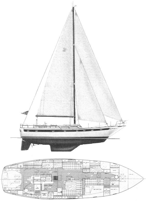 LIBERTY 49 drawing