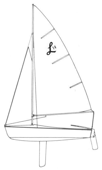 LIDO 14 drawing