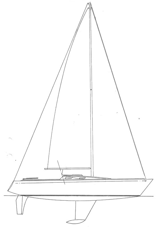 LILL SCAMPI 26 drawing