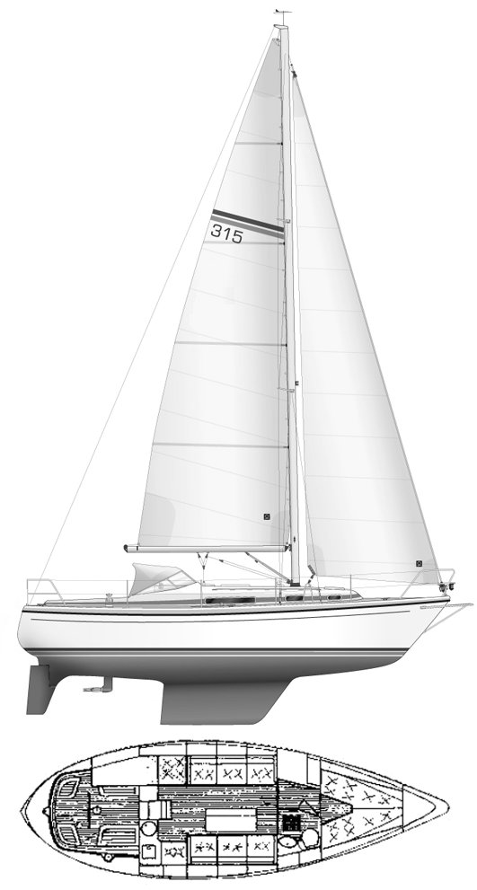 LM MERMAID 315 drawing