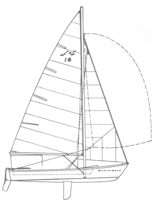 LONE STAR 16 (CHRYSLER) drawing