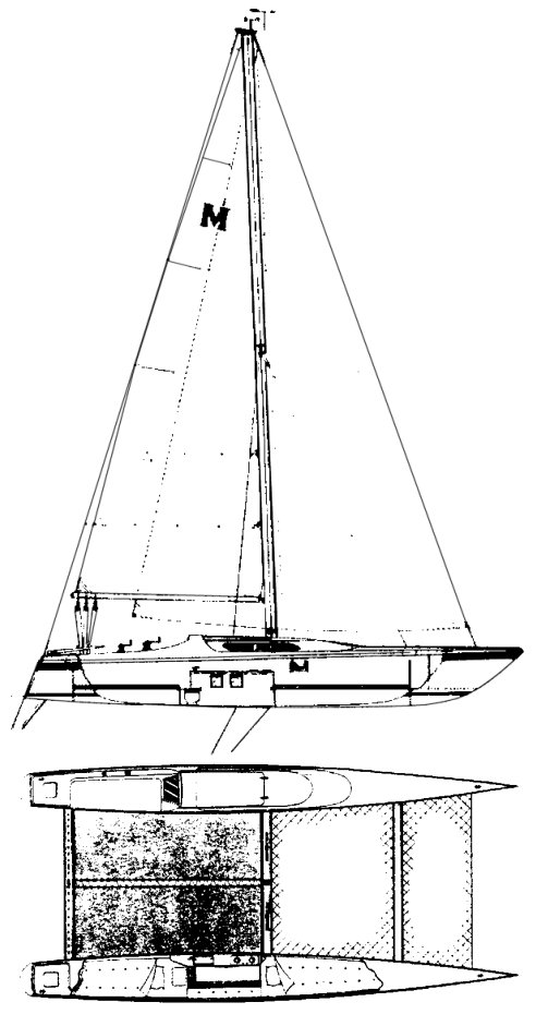 MACGREGOR 36 drawing