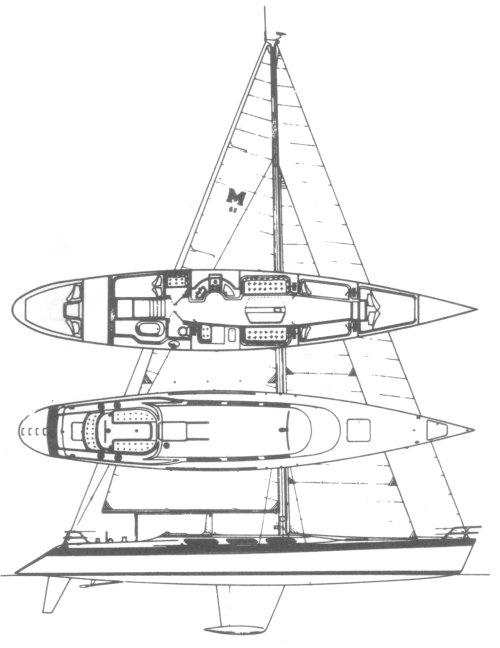 MACGREGOR 65 drawing