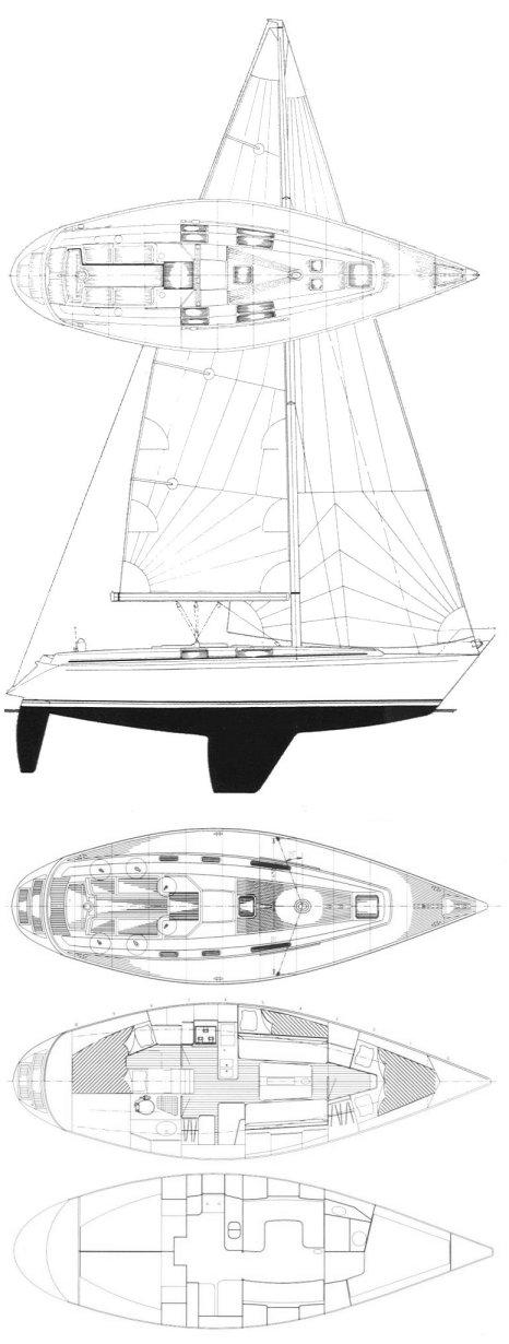 MAESTRO 38 drawing
