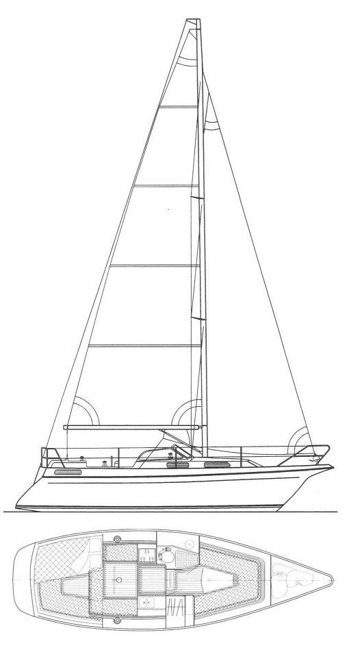 MAESTRO 95 drawing