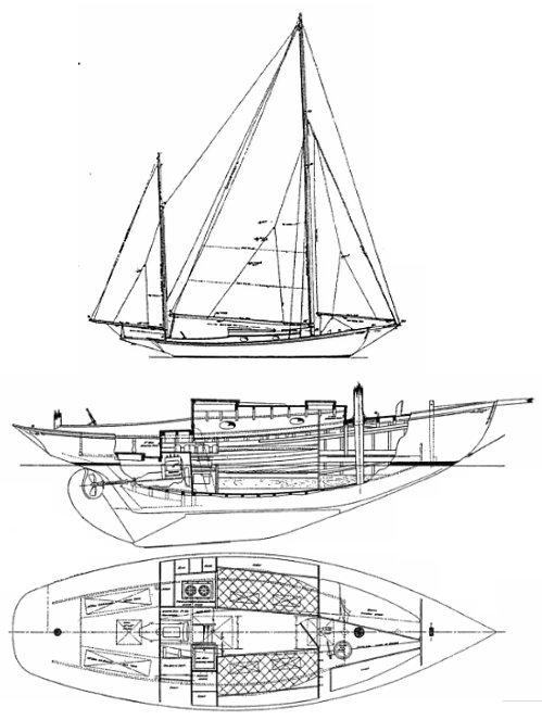 MALABAR JR. (1927) drawing