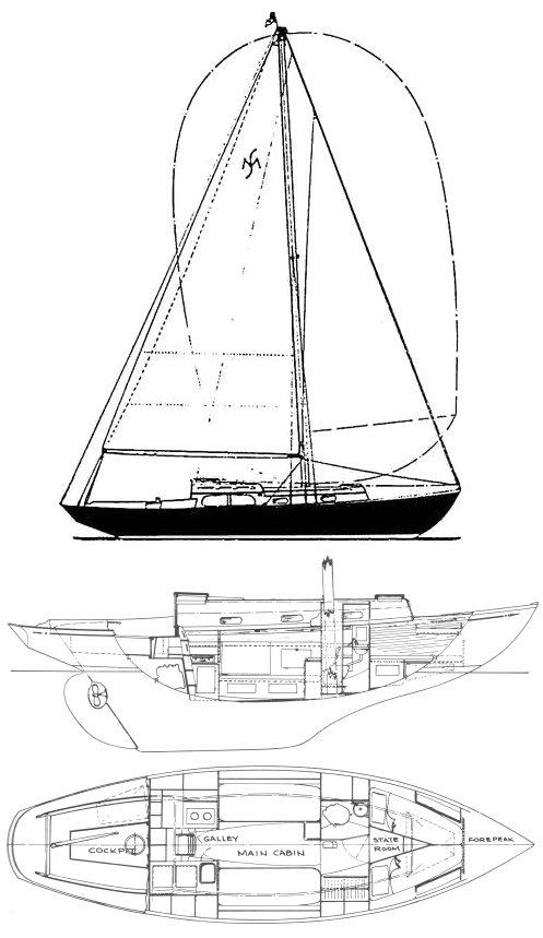 MALABAR SR. (ALDEN) drawing