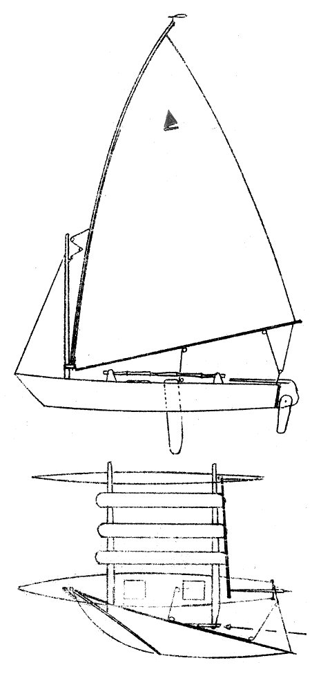 MALIBU OUTRIGGER drawing