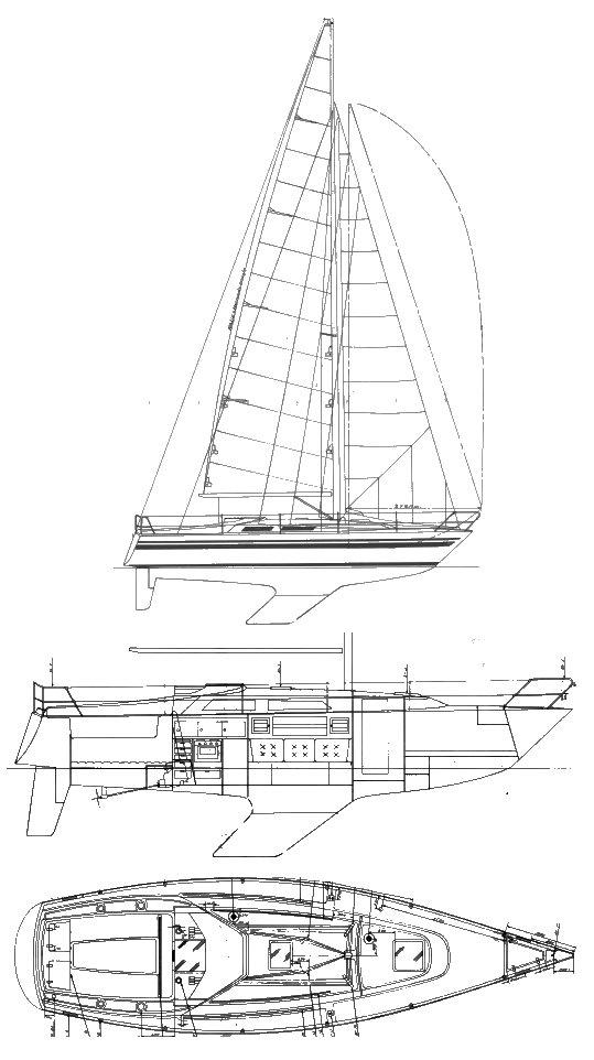 MAMBA 35 drawing